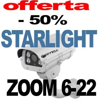 Telecamera esterno Sony Starvis eccellente visione notturna 1080p