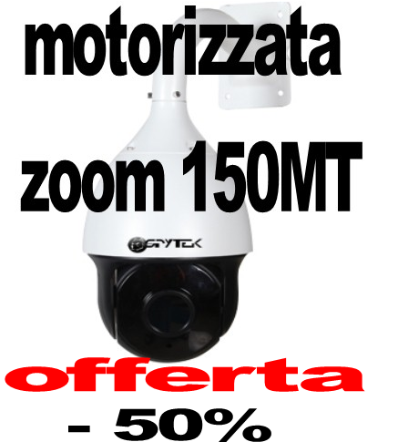 Telecamera speed dome Full HD Sony 2 Megapixel infrarossi 120 metri