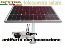 telecamera solare con antifurto integrato GPRS
