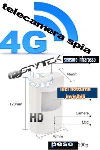 Dispositivo con microcamera spia invisibile IP 4G.